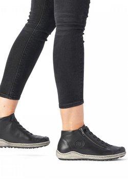 Remonte - Sneaker high - schwarz
