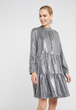 Steffen Schraut - FUNKY GLAM DRESS - Cocktail dress / Party dress - funky silver