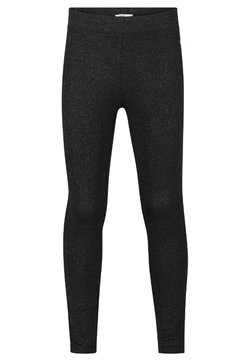 WE Fashion - GLITTER - Legging - black