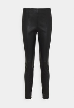 Bally - CLASSIC TROUSERS - Leggings - Trousers - black