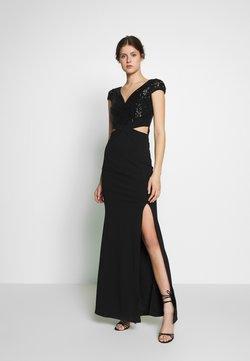 WAL G TALL - CUT OUT WAIST DRESS - Vestido de cóctel - black