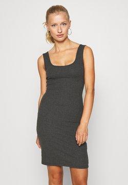 Even&Odd - Vestido de tubo - mottled dark grey