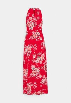 VILA PETITE - VITAGETES HALTERNECK ANKLE DRESS - Vestito elegante - mars red