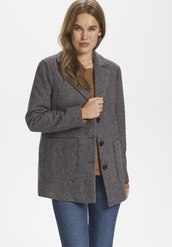 Saint Tropez - CATESZ JACKET - Winterjacke - black beauty houndstooth m