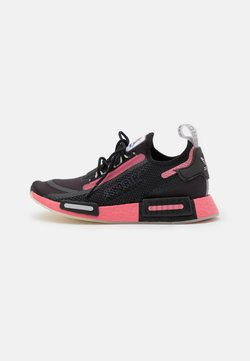 adidas Originals - NMD_R1 SPEEDLINES BOOST SHOES - Sneaker low - core black/haze rose/grey two