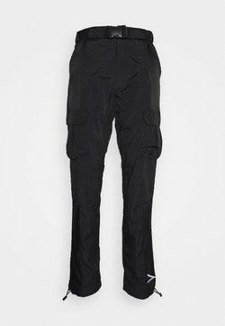 Karl Kani - SIGNATURE PANTS UNISEX - Reisitaskuhousut - black