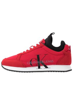 Calvin Klein Jeans - JEMMY - Sneaker low - racing red