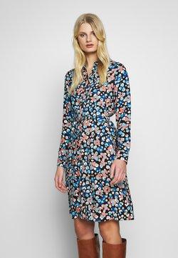 Fabienne Chapot - HAYLEY DRESS - Blousejurk - blue/orange/white