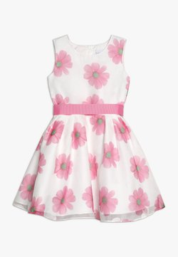 happy girls - Vestito elegante - weiß/ pink