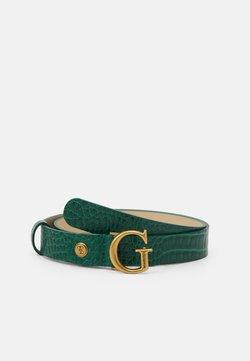 Guess - RAFFIE ADJUSTABLE PANT BELT - Cintura - green