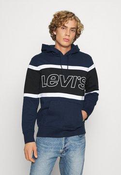 Levi's® - PIECED HOODIE UNISEX - Jersey con capucha - racer blu