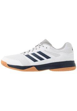 adidas Performance - SPEEDCOURT INDOOR SPORTS - Volleyballschuh - footwear white/collegiate navy
