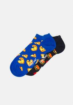 Happy Socks - JUNK FOOD LOW SOCK UNISEX 2 PACK - Skarpety - multi
