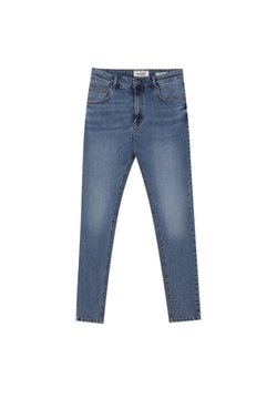PULL&BEAR - Slim fit jeans - dark blue