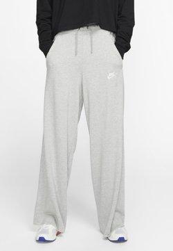 Nike Sportswear - NIKE SPORTSWEAR WOMEN'S JERSEY TROUSERS - Jogginghose - dark grey heather/matte silver/white