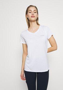 Columbia - LAVA LAKE™ TEE - T-Shirt basic - white