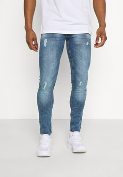 Redefined Rebel - RRSTOCKHOLM DESTROY - Jean slim - vintage denim