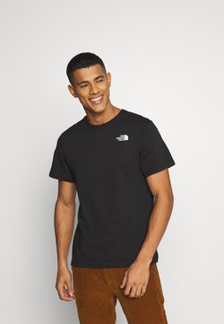 The North Face - MESSAGE TEE - T-shirt con stampa - black