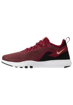 Nike Performance - FLEX TRAINER 9 - Trainings-/Fitnessschuh - team red/metallic copper/black/white