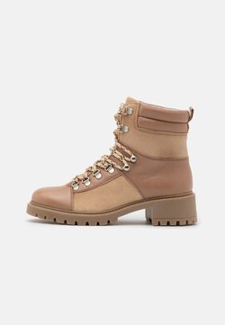 YAS - YASSHELTER HIKE BOOTS - Schnürstiefelette - creme