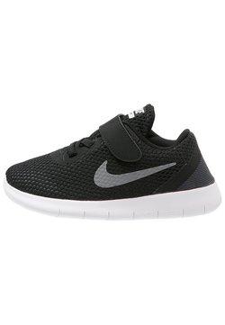Nike Performance - FREE RUN - Laufschuh Natural running - black/metallic silver/anthracite