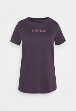 adidas Performance - Printtipaita - purple