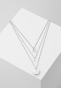sweet deluxe - KETTE 3 - Necklace - silver-coloured