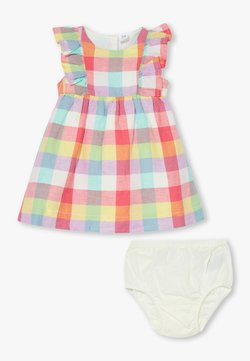 GAP - PLAID SET - Cocktailkleid/festliches Kleid - new off white