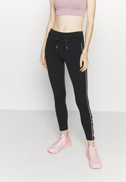 DKNY - MID RISE LEGGING - Tights - rosewater