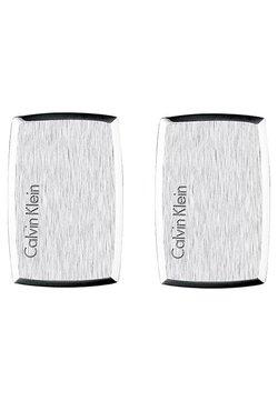 Calvin Klein - STRAIGHT - Manschettenknopf - silver-coloured