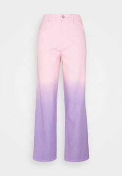 Olivia Rubin - LYNNIE - Straight leg jeans - lilac pink ombre