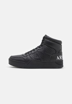 Armani Exchange - High-top trainers - black