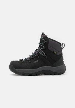 Keen - REVEL IV MID POLAR - Snowboots  - black/harbor gray