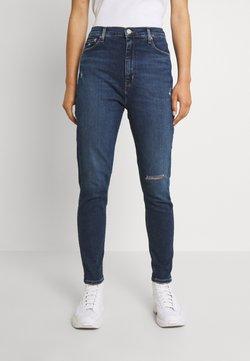 Tommy Jeans - MELANY UHR  - Jeans Skinny Fit - denim dark