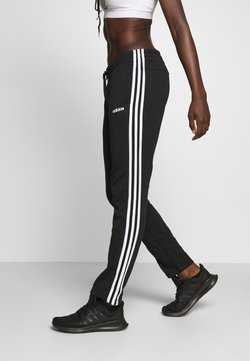 adidas Performance - ESSENTIALS 3STRIPES OPEN HEM SPORT PANTS - Jogginghose - black/white