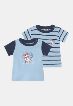 Jacky Baby - BOYS 2 PACK - T-shirt con stampa - blue/dark blue