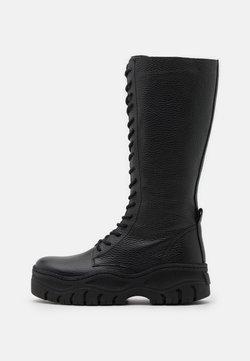 Zign - Platform-saappaat - black