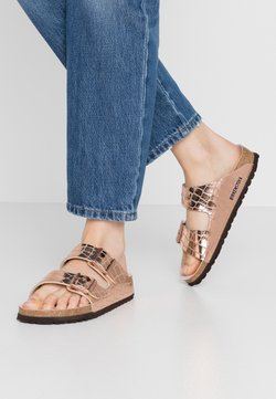 Birkenstock - ARIZONA - Tofflor & inneskor - gator gleam copper