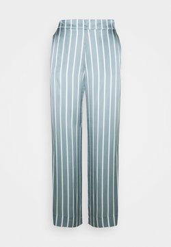 ASCENO - THE LONDON BOTTOM - Pyjama bottoms - dust blue