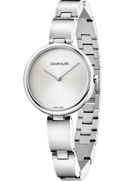 Calvin Klein - CALVIN KLEIN DAMEN-UHREN ANALOG QUARZ - Uhr - silver