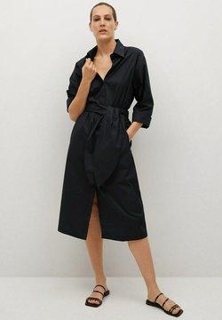 Mango - Sukienka koszulowa - noir