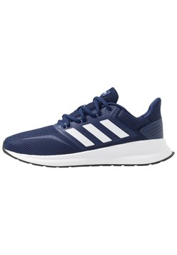 adidas Performance - RUNFALCON - Zapatillas de running neutras - dark blue/ftwr white/core black