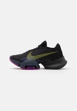 Nike Performance - AIR ZOOM SUPERREP 2 - Zapatillas de entrenamiento - black/cyber/red plum/sapphire