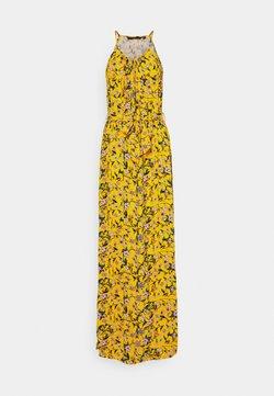 Vero Moda Tall - VMSIMPLY  EASY SLIT DRESS - Maxikleid - saffron/lotte