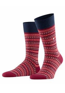 Burlington - ISLE - Socken - merlot