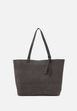 Zign - LEATHER - Shopping Bag - anthracite