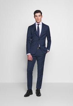 Tommy Hilfiger Tailored - PEAK LAPEL CHECK SUIT SLIM FIT - Kostuum - blue