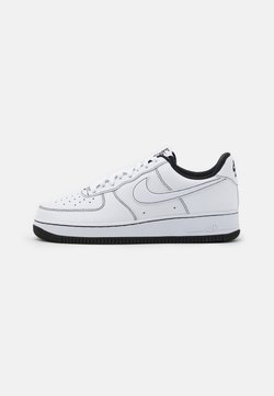 Nike Sportswear - AIR FORCE 1 '07 STITCH - Sneakers laag - white/black