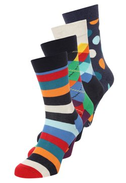 Happy Socks - 4 PACK  - Chaussettes - navy
