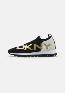 DKNY - ALIZA RUNNER  - Mocassins - black/multicolor